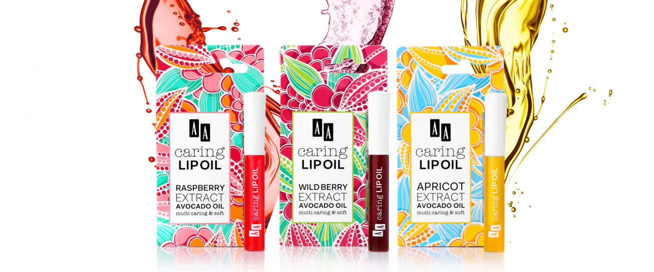 Poznajcie testerki olejków doust AA Caring Lip Oil