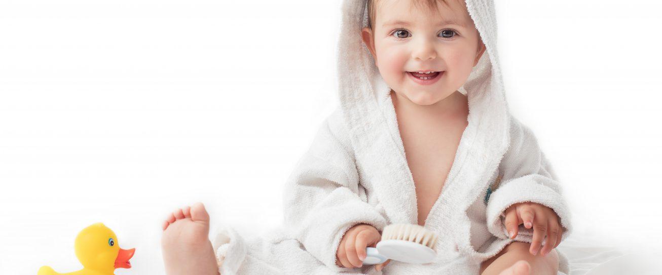 ABC kąpieli niemowląt